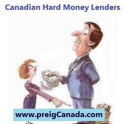 Canadian Hard Money Lenders