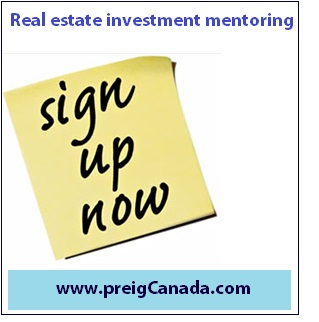 Real Estate Investment Mentoring