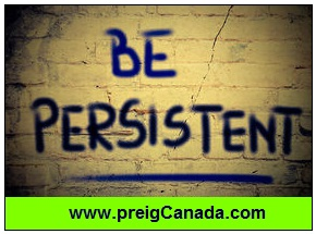 Be persistent, increase your credit score, improve your credit score
