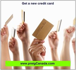 Get a new credit card, increase your credit score, improve your credit score