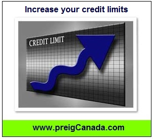 Increse your credit limits, increase your credit score, improve your credit score