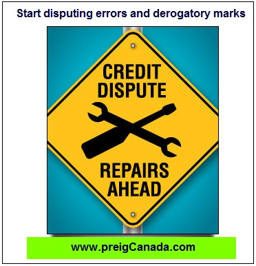 Start disputing errors and derogatory marks, increase your credit score, improve your credit score