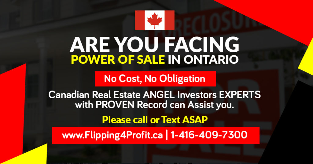 Stop help Canadian Foreclosure and Power of Sales