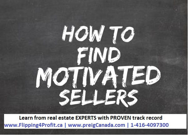 How to find Panic Motivated Home Sellers